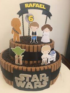 39+ Ideias de Bolo Star Wars > Sensacionais #BoloStarWars #Bolo #StarWars #FestaStarWars Bolo Star Wars, Tema Star Wars, Star Wars Cake, Star Wars Party, Star Wars Birthday, Birthday Cake, Birthday Parties, Meninas Star Wars, Aniversario Star Wars