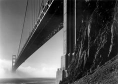 Ansel Adams, Golden Gate Bridge, San Francisco.  See The Virtual Artist gallery: www.theartistobjective.com/gallery/index.html