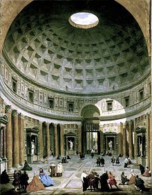 Pantheon - Rome, Italy. Completely unexpected sight on the inside - my husbands favorite place.