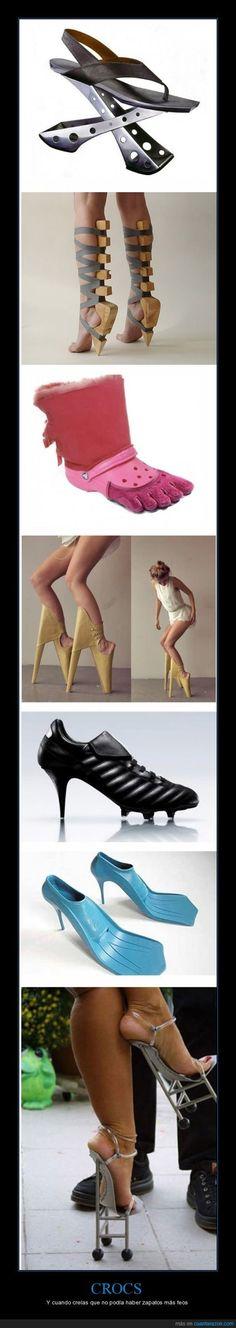 CROCS - Y cuando creías que no podía haber zapatos más feos
