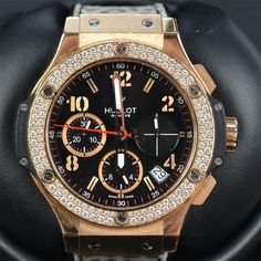 Available Now! Hublot Watches Big Bang 41mm Red Gold Style Number:341.PX.130.RX.114 #Hublot #LuxurySportStyles