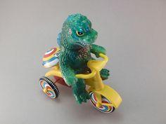 Godzilla on a tricycle #toys #kaiju