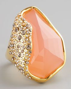 Alexis Bittar Rose Quartz Ring