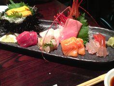 Sashimi from Sushi Ota in San Diego.