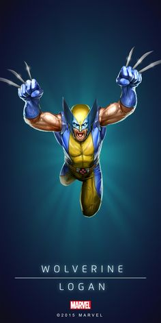 Wolverine Astonishing Poster-02 (Variant)