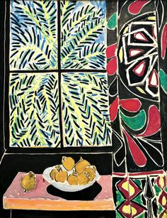Henri Matisse (1869–1954) Interior with an Egyptian Curtain 1948