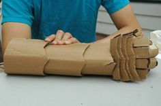 Cardboard Armour - DIY