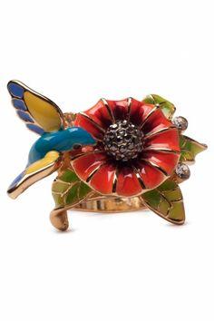 hummingbird ring! want!