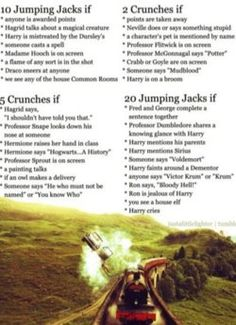 Harry Potter exercise game.. WHAAAAT?! Yes please!