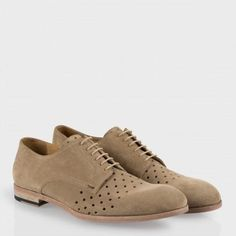 Paul Smith Shoes - Taupe Seagal Shoes