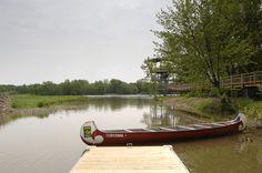 Le Groupe Plein Air Terrebonne (GPAT) fait la location de canots et de kayaks et organise des randonnées pour une heure ou une journée accompagnée de guides fort informés sur l'histoire et de la biologie des lieux.