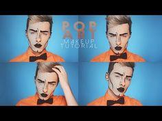 MALE POP ART - Makeup Tutorial