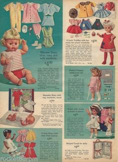 1965-Sears-Christmas-catalog-page-Tearie-Dearie-Doll-Perfect-Patient-Nurse-Doll