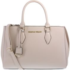 Women's Bethanne Satchel ($30) ❤ liked on Polyvore featuring bags, handbags, satchel handbags, brown handbags, faux-leather handbags, handle bag and handle satchel