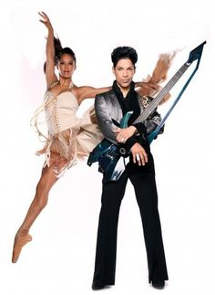 Misty Copeland and Prince