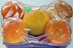 Janet Fish, Oranges