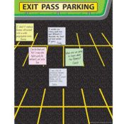 Exit pass for post its