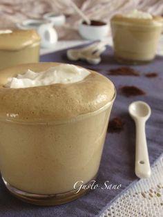 mousse di caffè con spuma di mascarpone
