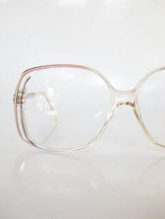 40b2dc635d 1970s Vintage French Eyeglasses Rust Red Glasses Oversized Huge Geek Chic  Womens Ladies 70s Seventies Grunge Rocker Girl Indie