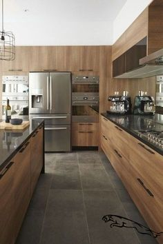 Jump to Rustic Kitchen Decor - Simplicity works like a beauty in a smaller kitchen area space. This rustic kitchen design permits homeowners to have a. Modern Kitchen Interiors, Contemporary Kitchen Design, Home Decor Kitchen, Interior Design Kitchen, New Kitchen, Kitchen Ideas, Kitchen Inspiration, Kitchen Designs, Warm Kitchen