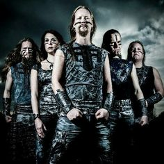 Ensiferum ( Genre: Folk metal, viking metal, power metal, death metal mélodique,  black metal)