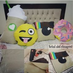 #DIY #emoji #cupcakes #instagram #Starbucks #pillow #crafts
