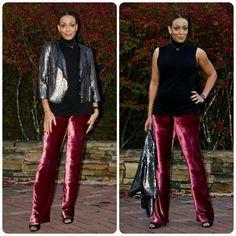 Velvet Pants! Erica Bunker DIY Style!