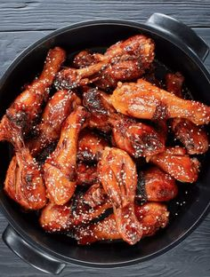 This easy Sesame Chicken recipe is full of rich flavor and is sure to be a hit with your family! It's has bold yet sweet sesame flavor in every bite! Chicken Drumstick Recipes, Low Carb Chicken Recipes, Seafood Recipes, Healthy Dinner Recipes, Crockpot Recipes, Cooking Recipes, Jerk Chicken, Chicken Salads, Rotisserie Chicken