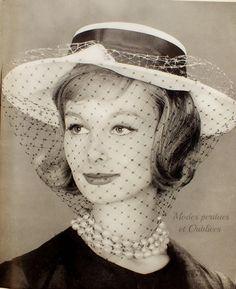 CHAPEAU de PARIS - Printemps 1959 - Un Certain regard....