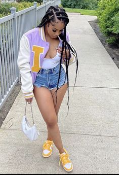 Baddie Outfits Casual, Cute Swag Outfits, Dope Outfits, Stylish Outfits, Girl Outfits, Fashion Outfits, Womens Fashion, Black Girl Fashion, Types Of Fashion Styles