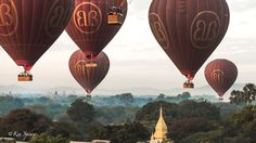 Balloons Over Bagan - Photos Gallery