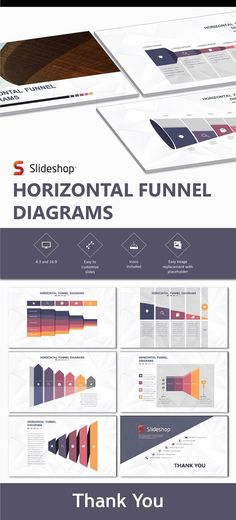 Matrix structure reporting template from powerpoint ceo pack horizontal funnel diagram presentation powerpoint ppt ppttemplate bestdesignresources ccuart Images