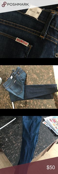 Hudson's Nico Midrise Super Skinny Jeans size 30 Worn once, Like new Hudson Jeans Jeans Skinny