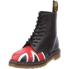 Dr. Martens 8417 Union Jack 1460 - Botas militares, color: Nero #Zapatos #Botas #Martens #Calzado #Moda
