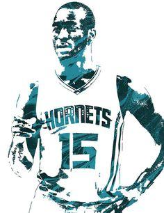 c36c24d6c Kemba Walker Charlotte Hornets Pixel Art 4 Art Print by Joe Hamilton