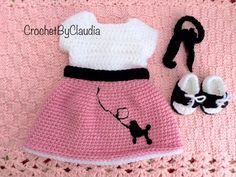 crochet poodle skirt pattern - Google Search