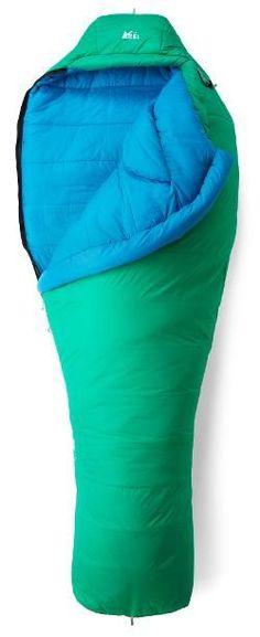 1974884dae REI Co-op Women s Lyra 24 Sleeping Bag Nomad Green Regular Right  Backpacking Gear