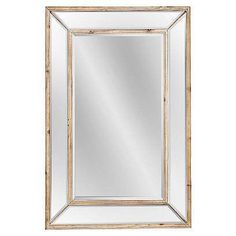 wood mirror | One Kings Lane