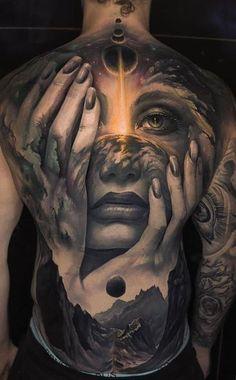 Back Piece Tattoo Men, Cool Back Tattoos, Back Tattoos For Guys, Hot Guys Tattoos, Dope Tattoos, Badass Tattoos, Torso Tattoos, Waist Tattoos, Body Art Tattoos