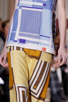 Auteur fabric. Maison Margiela Spring 2014 Couture Fashion.