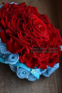 Wedding composite bouquet - rosamelia - designed by Svetlana Lunin.