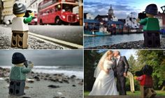 A year in the life of a Lego man: Incredible pictures show plastic 'photographer' on his travels around Britain
