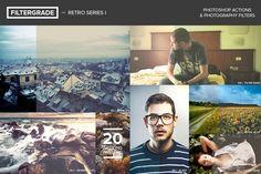 FilterGrade Retro Series I by FilterGrade on Creative Market