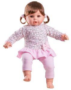 e7bdaa3dcafd Puppen Kleidung Kleid Kätzchen Motiv mit Leggings Paola Reina ca. 57 cm  78754 Spielzeug,