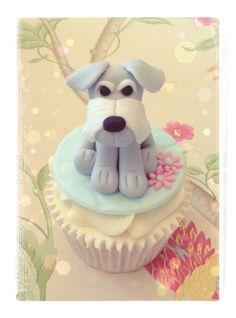 I am a BIGG schnauzer fan! Dog Cupcakes, Animal Cupcakes, Cupcake Cookies, Schnauzer Art, Miniature Schnauzer, Beautiful Cakes, Amazing Cakes, Best Dog Food, Puppy Party