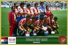 Selección Paraguaya de Fútbol, Copa del Mundo MÉXICO 86