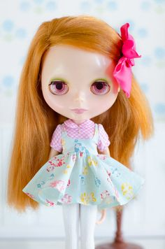 Dress for Blythe Doll by PlasticFashion on Etsy,