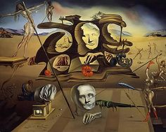 """""""At the age of six I wanted to be a cook. At seven I wanted to be Napoleon. And my ambition has been growing steadily ever since.""""   ― Salvador Dalí"""