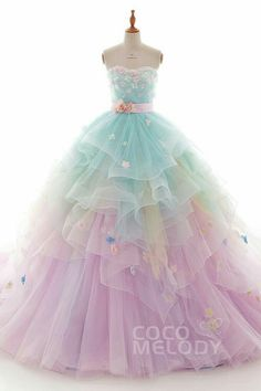 (notitle) - dresses - Best Picture For elegant Dresses For Your Taste You are looking for something, Quince Dresses, Ball Dresses, Ball Gowns, Dresses Dresses, Pretty Prom Dresses, Cute Dresses, Girls Dresses, Elegant Dresses, Blue Evening Dresses