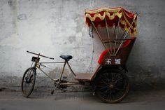 BOGO SALE the chinese rickshaw original photography // by kanpai, $25.00